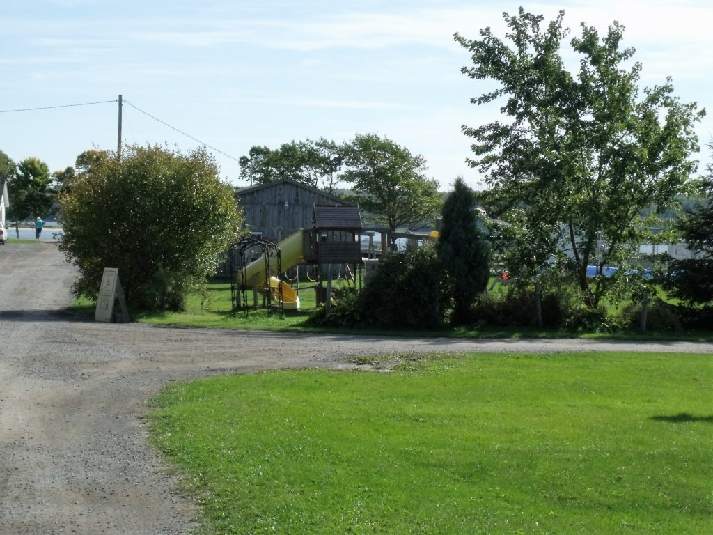Image of the playground at Harbour Light Campground. 3