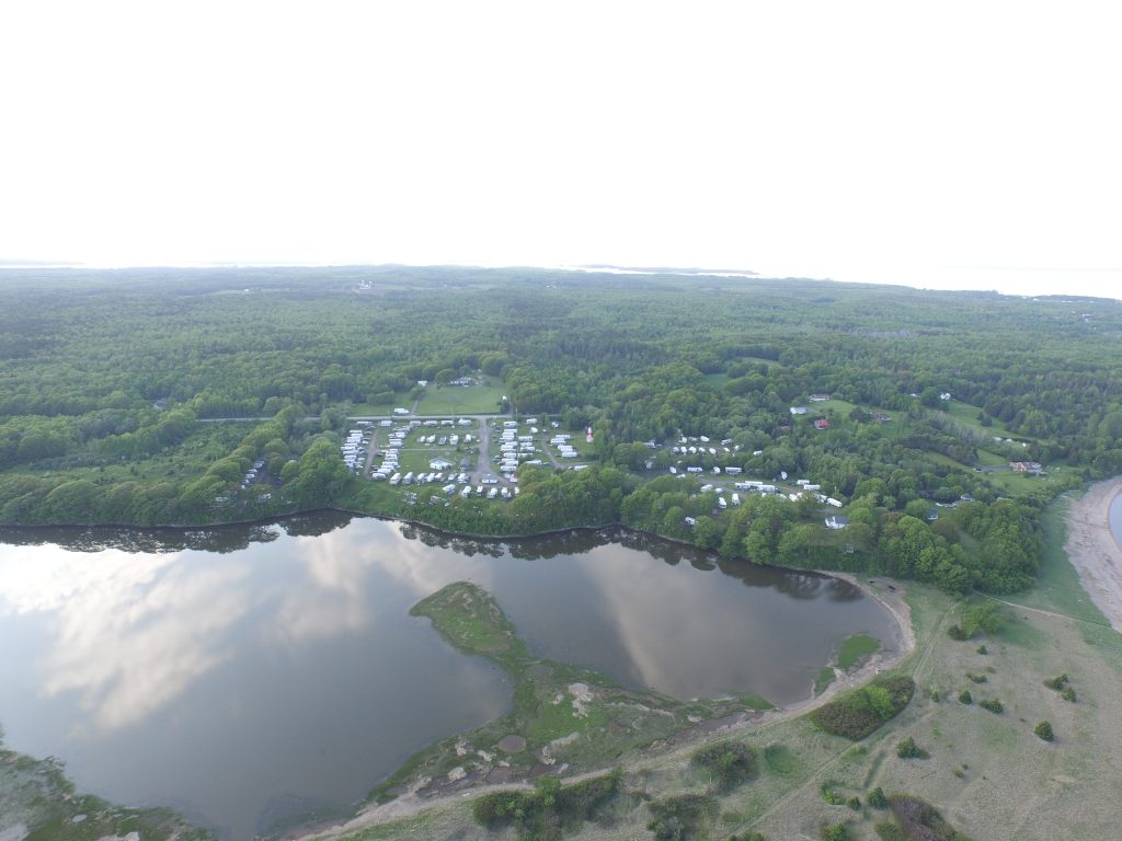 Aerial image of Harbour Light Campground, Pictou NS. 3