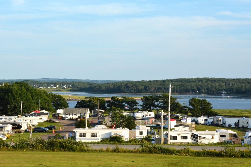 Image of Harbour Light Campground, Pictou NS.